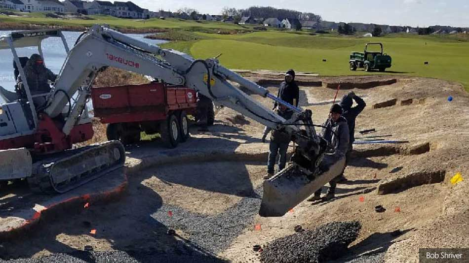 Plantation Lakes Golf Course Progress
